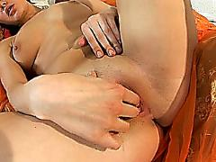 Nubiles cherri lets her stud torture her pussy