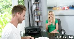 Dude wants to fuck his bitch in office film movie 1