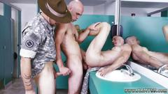 Gay military porn good anal training