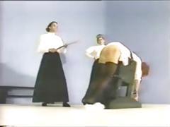 spanking, birching, ritual