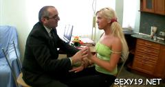 Raunchy spooning with teacher amateur clip 1