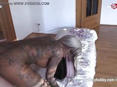 cumshot, blowjob, amateur, tattoos, fetish, doggy, german, piercings