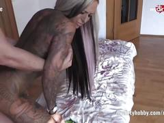 My dirty hobby – sexy tattooed babe in 69