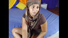 Cute muslim girl has nice ass