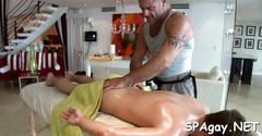 Raunchy massage session blowjob hardcore 2