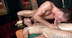 Slamming tight little hole blowjob clip 1