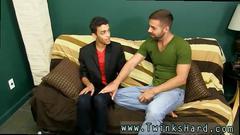 Black youth college gay porn xxx the young latino guy goes over to witness a movie but
