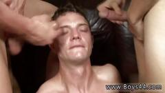 Male sperm orgy group gay and boy physical exam porn videos codys bukkake party