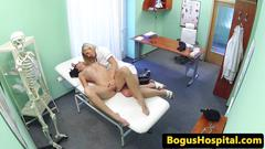 Euro patient fingered by nurse in office