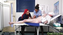 British femdom nurses tug