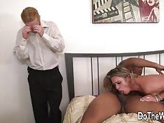 amanda blow, blowjob, hardcore, cumshot, facial, interracial, wife, housewife, couple, cuckold