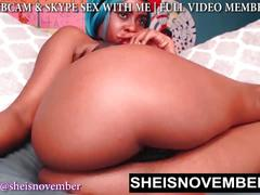 Big butt slut msnovember fucking you hard on webcam while you watch her pussy 18