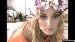 blonde, webcam, amateur, big ass