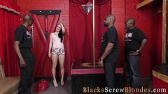 Slut rides black dicks big cock