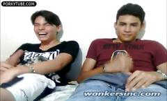 Cute guys on webcam