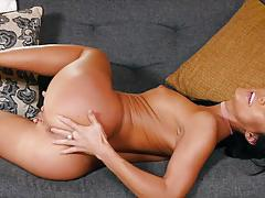 megan rain, masturbation, fingering, solo, strip, orgasm, naked, masturbate
