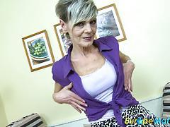 Sexy granny ivana solo fun