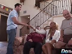 Blonde wife loves getting fucking