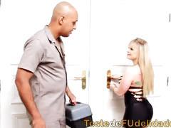 Técnico transando com cliente safada
