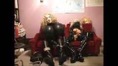 Roxina2005 hot and horny rubber maid