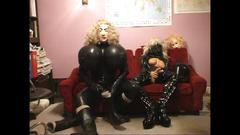 Roxina2005 hot and horny rubber maid