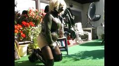 Roxina2008 rubber girl in the sun