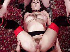 milf, anal, bdsm, babe, orgy, group sex, pussy licking, rope bondage, the upper floor, kink, aiden starr, xander corvus, roxanne rae, kimber woods