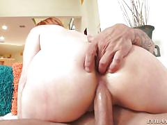 Redhead gobbles up the d @ anal soccer moms #02