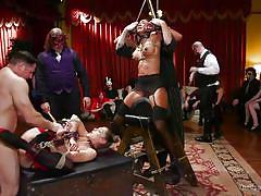 big tits, babe, orgy, interracial, whipping, group sex, clothespins, sex slaves, rope bondage, the upper floor, kink, aiden starr, john strong, ramon nomar, sadie santana, kasey warner, amara romani, ember stone