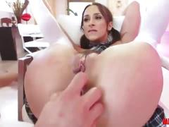 Ashley adamns ass probing and anal sex