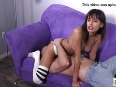 foot, feet, femdom, face, sitting
