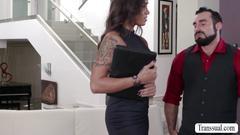 Mascular hunk stud jaxton fucks toris shapely ass