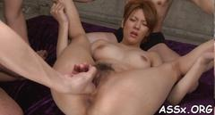 Exquisite japanese anal drilling porn feature 1