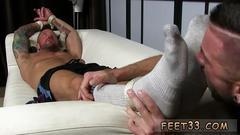 Love foot armpit licking gay dolfs foot sex captive