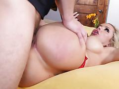 Nina elle crammed in her pussyhole