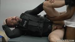 White cops are ready to use this handsome black gay dude