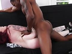 Huge black dick pounding into chloe carter