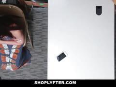 Shoplyfter - teen fucked by cop in ass