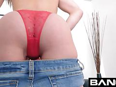 Bang casting: amateur has her first mean casting