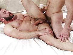 Gay couple fucking hard