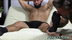 Gay male foot fetish groups ricky displayed up wearing a pair of ebony socks which i