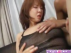 Ryo hirase asian hottie in orgasmic threesome