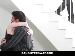Daughterswap - hot daughter revenge fucked by dads friend