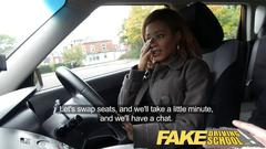 Fake driving school ebony londoner pays for lessons with sexual favours