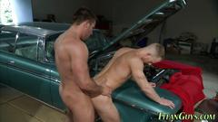 Gay hunks are ready for ass fucking and hot jizz right now