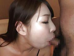 Cute mio loves to suck two cocks at once