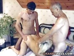 cumshot, hardcore, blonde, blowjob, mature, chubby, threesome, old, hairy, granny, older, bbw, olderwoman, matures, grandma, gilf, grandmother, older-women