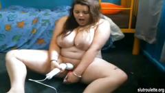 bbw, webcam, amateur, chubby, fat, solo
