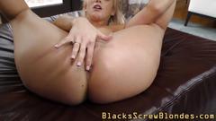 Interracial group slut big cock