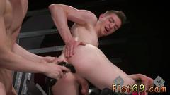 Gay fisting college boy axel abysse and matt wylde bathe each other in a tongue tub while